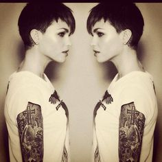 short term hair goal. if i can just get the top back to this length i'll be satisfied for now