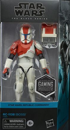 Republic Commando, Star Wars Toys, Star Wars Collection, Black Series, Action Figures, Sci Fi, Stars, Children, Gaming