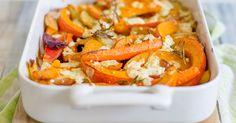 Leckeres Rezept für Ofengemüse mit Fetakäse und Rosmarin.