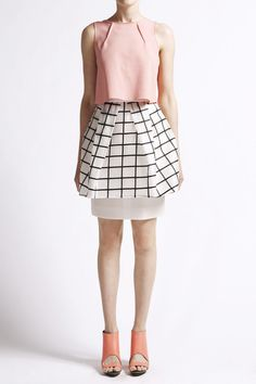 Manning Cartell, little box skirt
