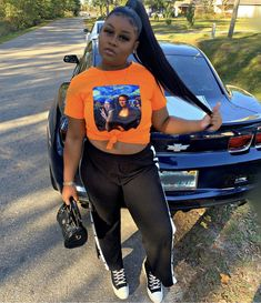 Cute Swag Outfits, Chill Outfits, Summer Outfits, Curvy Girl Fashion, Teen Fashion, Plus Size Fashion, Fashion Outfits, Fashion Killa, Summer Girls