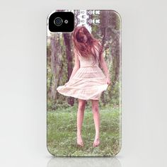 Artsy photography iphone case Red head red by FoxTreeClothing, $35.00