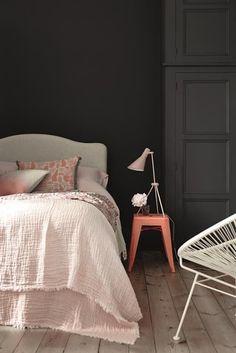 ATELIER RUE VERTE , le blog: Collectif Project Inside / Couleur foncée dans la chambre /