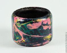 Купить Браслет Кожаный Tropikal Leopard - разноцветный, Браслет ручной работы, браслет кожаный