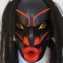 Tsonokwa or Wild Woman Mask