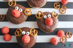 cute reindeer donuts- 2 boys + Hope