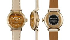 Natural Stone Face Shinola Watches ::: Tiger Eye, Turquoise, and Malachite - Alpha Male Style: Image Consultants for Men
