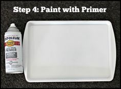 How to Paint a Cookie Sheet - Make Take & Teach Cookie Sheet Crafts, Cookie Sheet Activities, Cookie Sheets, Dollar Tree Decor, Dollar Tree Crafts, Sheet Cake Pan, Paint Cookies, Diy Cutting Board, How To Clean Metal