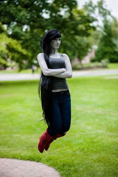 """I'm Just Your Problem."" ~Marceline, cosplay by Pirate Toaster 