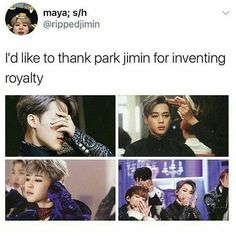 hONESTLY he bought something more than royality, I have got no words to express that all ARMY knows that right?we love u JIMIN BTS ARMY Namjoon, Famous Meme, Bts Memes Hilarious, Funny, Cypher Pt 4, Bts Tweet, Blood Sweat And Tears, E Dawn, Kpop