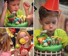 A SOPLAR LAS VELAS Zombie Birthday Parties, Leo Birthday, Zombie Party, Birthday Stuff, Plants Vs Zombies, Plant Zombie, Party Time, Children, Kids