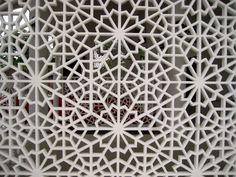 Zillij pattern fretwork