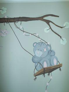 muurschildering me to you 9