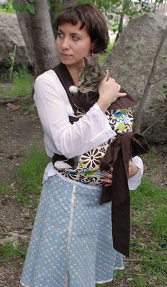 make a baby carrier