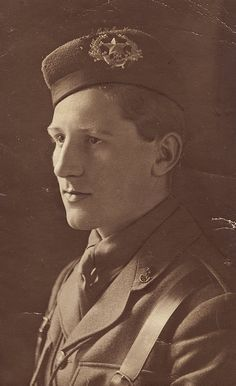 Lt. Of the 10th Cameronians during WWI.