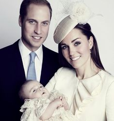 """November New/Old Official Portrait from HRH Prince George of Cambridge's Christening."