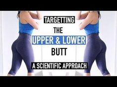 EXERCISES FOR THE UPPER & LOWER BUTT | Scientific Approach to Training Superior & Inferior Glutes - YouTube