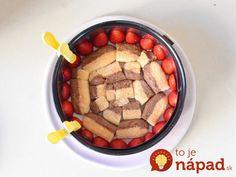 Vychytávka, ktorú používajú aj profi cukrári! Biscuits, Dog Food Recipes, Creme, Breakfast, Simple, Food, Strawberries, Crack Crackers, Cookies