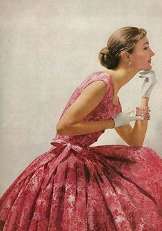 DuPont Dacron Ad, Vogue, 1955
