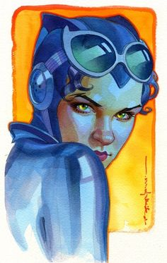 Catwoman by Brian Stelfreeze