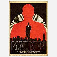 The men of Madison Avenue themselves probably couldn't come up with a better advertisement. This striking, minimalist graphic print by designer Matt Needle features an imperial silhouette of the creative director everyone loves to hate. It's sure to please retro-chic and Jon Hamm enthusiasts alike. Now go watch TV.