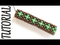 Cubic RAW beading Tutorial - 2 Rows CRAW Pattern - Bead Tutorial Cubic Right Angle Weave - YouTube