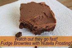 Nutella Frosting Recipe
