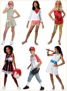 High school musical costumes & High School Musical Costumes Super Cheerleader Pkg New | the future ...