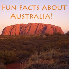 Over 60 interesting & fun facts all about Australia for kids & adults. You won't find any better information about Australia online so COME HAVE A LOOK NOW!