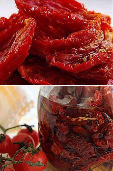 Вяленые помидоры — готовим в микроволновке - Другая консервация - Консервация - Рецепты - Кулинарная книжка.