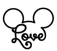 637 images about 💗💕 Mickey & Minnie 💗💕 on We Heart It Disney Diy, Disney Crafts, Mickey Mouse Tattoos, Disney Tattoos, Brother Plotter, Mickey Y Minnie, Mickey Love, Disney Mickey, Disney Designs