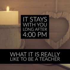 Read what it is like to be a teacher - from an educator with 15 years of teaching experience under her belt.