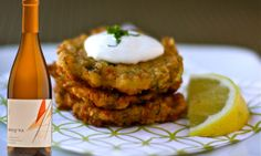 Check out this mouthwatering recipe for Mom's Zucchini Cakes paired with Presqu'ile Winery 2012 Estate Chardonnay from our very own Chef Maegen Loring and try Presqu'ile Chardonnays at The Grand Chardonnay Tasting on May 17th at Dolphin Bay Resort & Spa! http://thechardonnaysymposium.com/press  #TCS2014 #chardsymposium