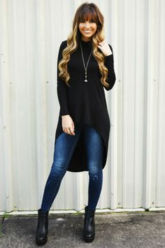 Share to save 10% on  your order instantly!  The One I Need Top: Black