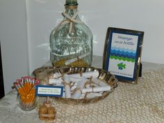 """""""Message in a Bottle"""" to Mom to be"""