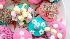 Color Burst Cupcakes