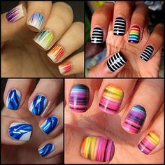 Veja algumas dessas ideias para transformar o visual de suas unhas! :-)