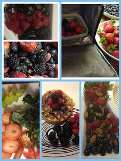 Make the best out of your organic berries. They go bad quickly but you can be more efficient in using them. First thing is to wash them clean and freeze a large portion of them right away. >>Use frozen berries +as an easy way to make smoothies without needing ice. + to make sugarless waffle sauce + to add to pudding or yogurt of your choice + to make frozen summer drinks >> Use fresh berries for + salad toppings + pancake toppings + school snacks + fruit salad with nuts and seeds +