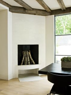 Spaces Corner Fireplace Design, Pictures, Remodel, Decor and Ideas - page 49