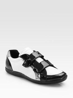 saffiano vernice prada - Prada High Top Velcro Strap Sneaker at Barneys.com $670 | Shoes ...