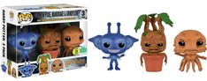 Amazon.com: Funko Pop Minis Harry Potter Cornish Pixie, Mandrake and Grindylow SDCC 2016 Exclusive 3 Pack: Toys & Games