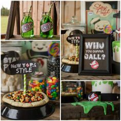 Ghostbusters Halloween Party with Awesome Ideas via Kara's Party Ideas | KarasPartyIdeas.com #HalloweenParty #Ghostbusters #Ghostbustersparty