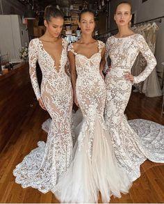Amazing Wedding Dress, Dream Wedding Dresses, Designer Wedding Dresses, Bridal Dresses, Wedding Gowns, Designer Gowns, Lace Wedding, Berta Bridal, Dressing