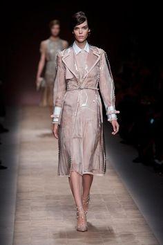 clear plastic raincoat Spring Fashion trend 2013
