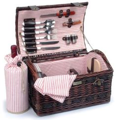 The Couture Collection-A For 2 Persons .Willow picnic basket with deluxe for With cotton lining and made of willow sea-grass and wood chip,this new shape basket is the ideal gift for any Tumbler Glasses 2 Ceramic plates 2 Ea. Picnic Baskets For Sale, Wicker Picnic Basket, Picnic Hampers, Picnic Backpack, Picnic Bag, Picnic Time, Wooden Cheese Board, Hot Cold Packs, Wine Baskets