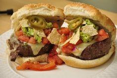 Nacho Burgers #grill #recipe #burger