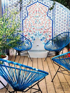 tile wall outdoors #decor #outdoors