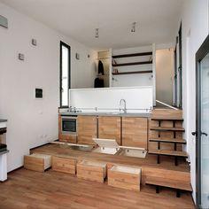 Deze studio is maar 35 m2, maar heeft alles wat je nodig hebt. Inclusief riant terras.