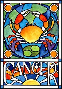 cancer art poster