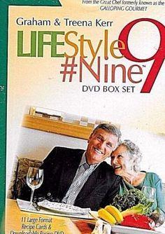 Graham-Kerr-LIFESTYLE-9-Nine-BOX-SET-9-DVD-039-s-FACTORY-SEALED-NEW-FREE-S-amp-H-US